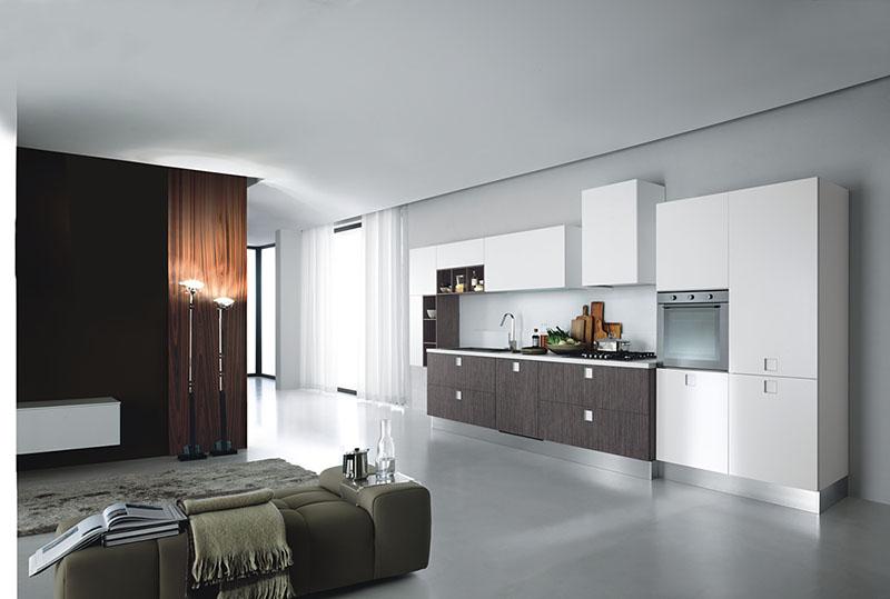 Quadra Kitchen living room