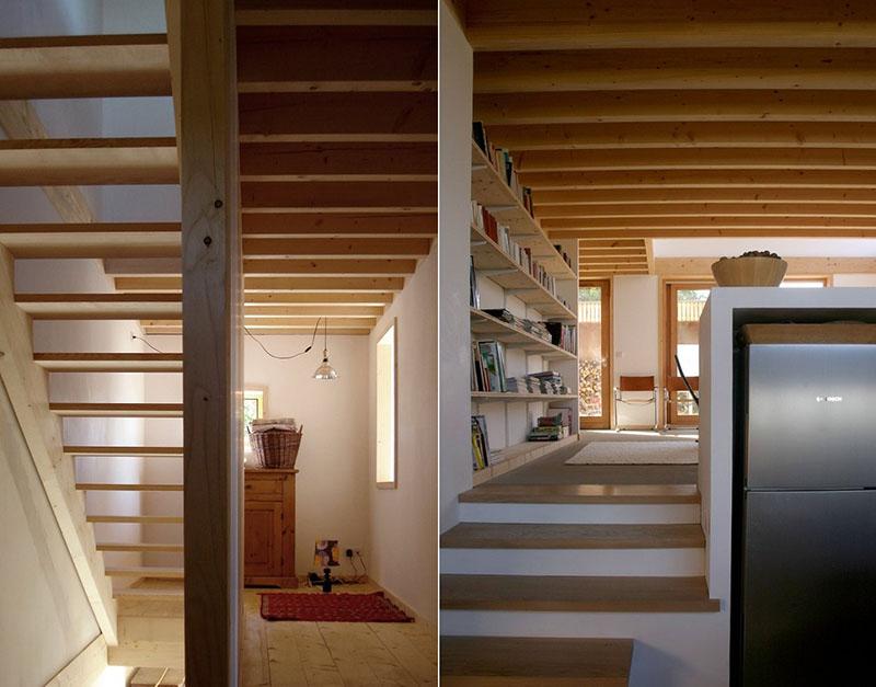Sampan's House staircase
