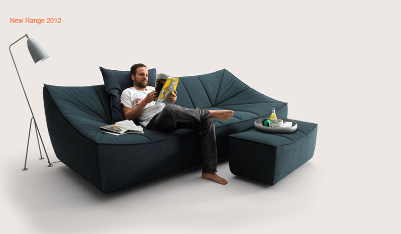 Bahir Sofa by Jörg Boner for COR 10