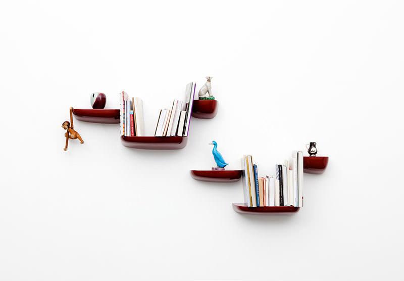 Corniches wall shelf collection