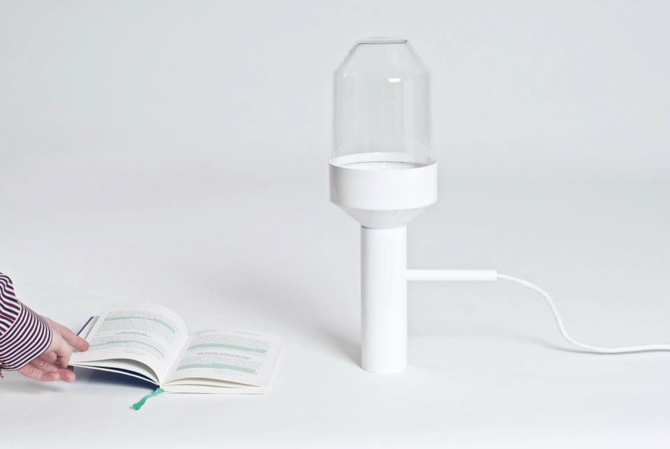 GUS Table Lamp in White Color