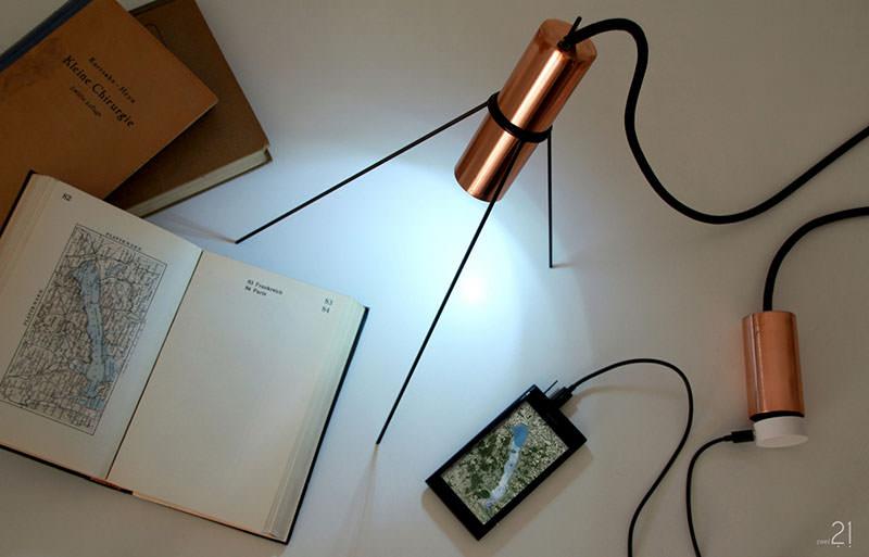 Interioricity table Lamp by Jasmin Kastner and Marc Joschko