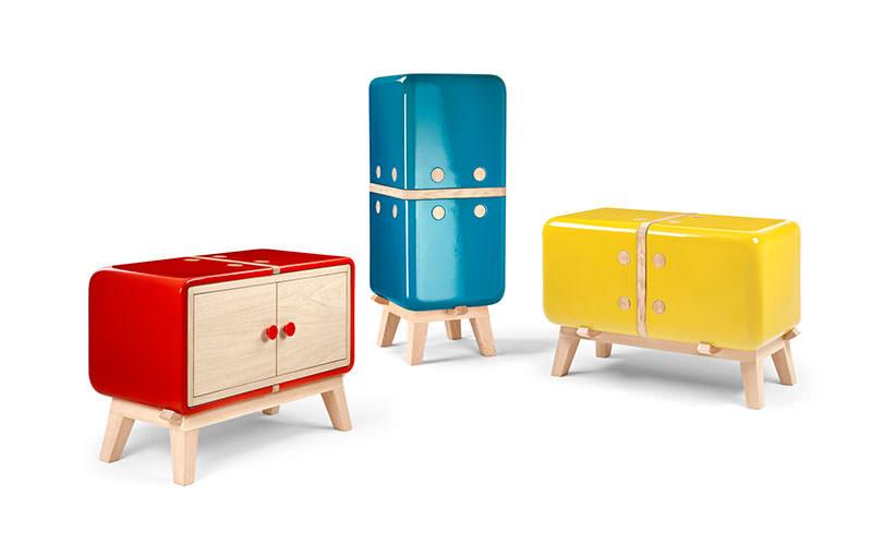 Keramos Cabinets by Adriano Design and La Castellamonte