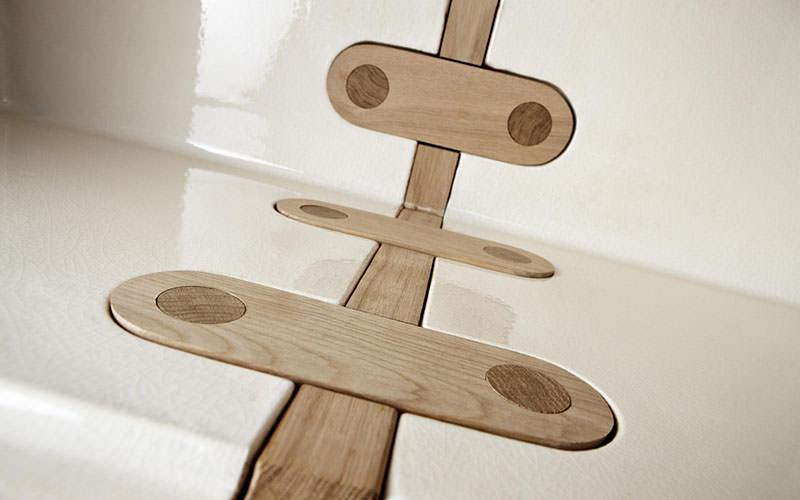 Keramos Cabinet wood joint