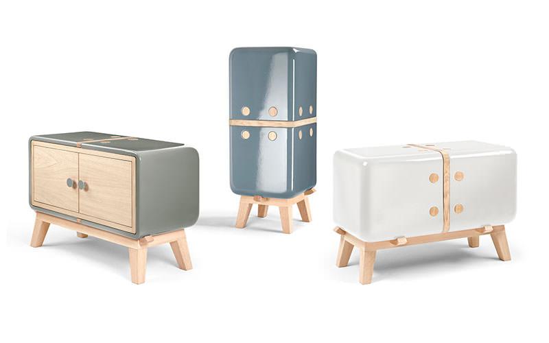 Ceramic and Wood Cabinets Keramos