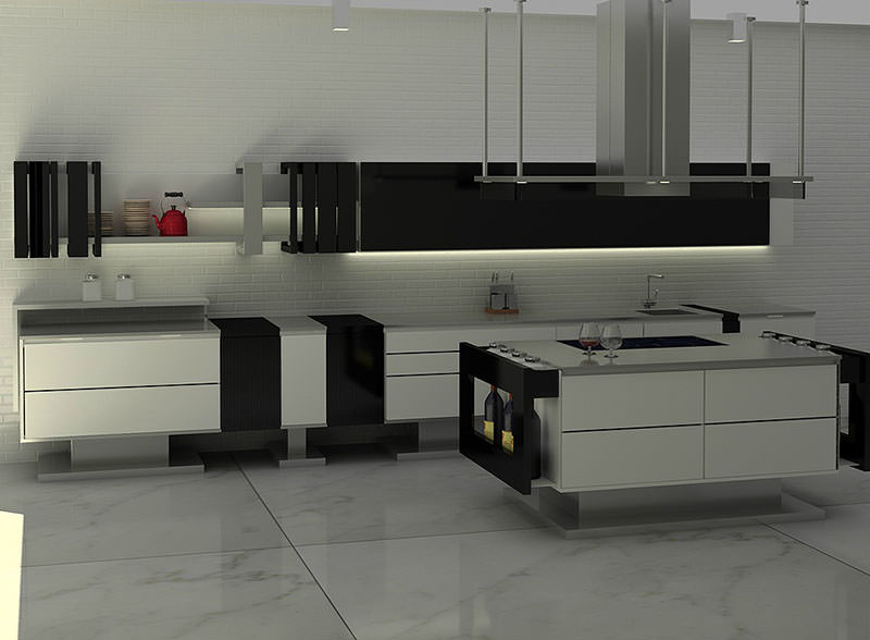 Liu Minimalist Kitchen Design