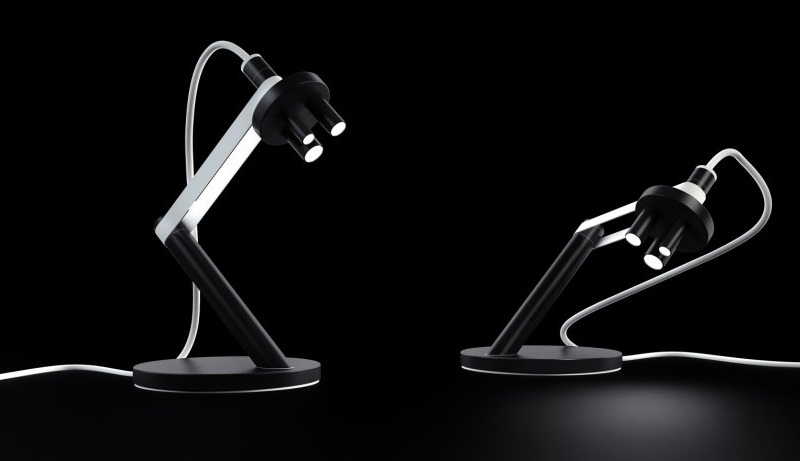 Microscope LED Table Lamp by Michael Samoriz 3