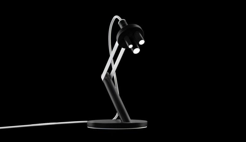 Microscope LED Table Lamp by Michael Samoriz 4