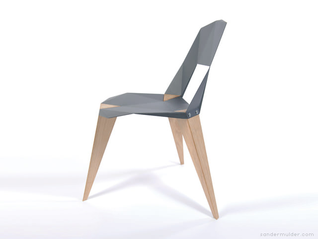 Pythagoras Chair with Three Legs