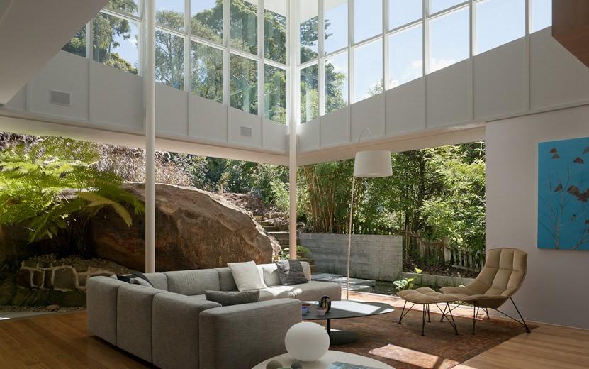 Skirt + Rock Extension House Living Room