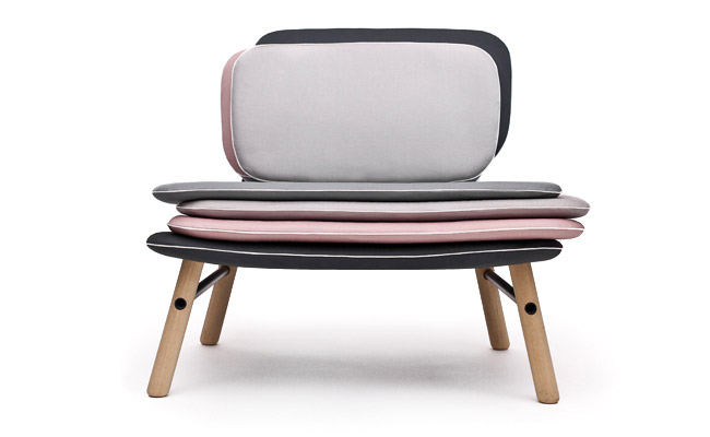 Stack Easy Chair Skrivo Design