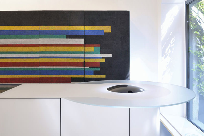 Colorful Mosaic Kitchen Concept by GD Cucine