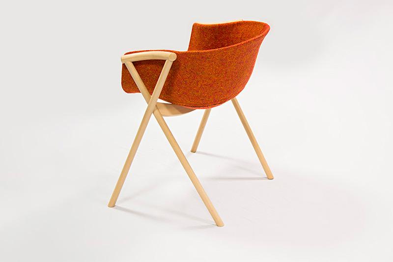 Bai Beech Wood Dining Chair