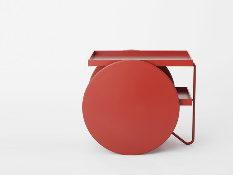 Chariot Mobile Side Table