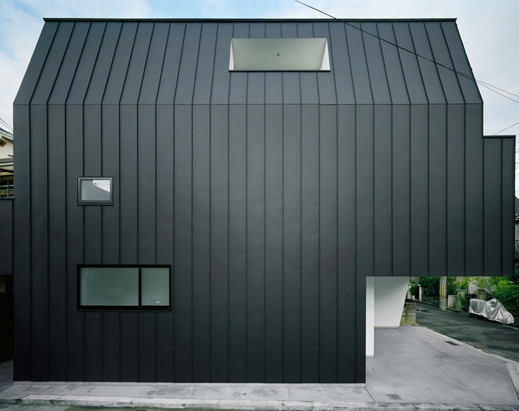 Hi House Black Galvanized Steel Exterior