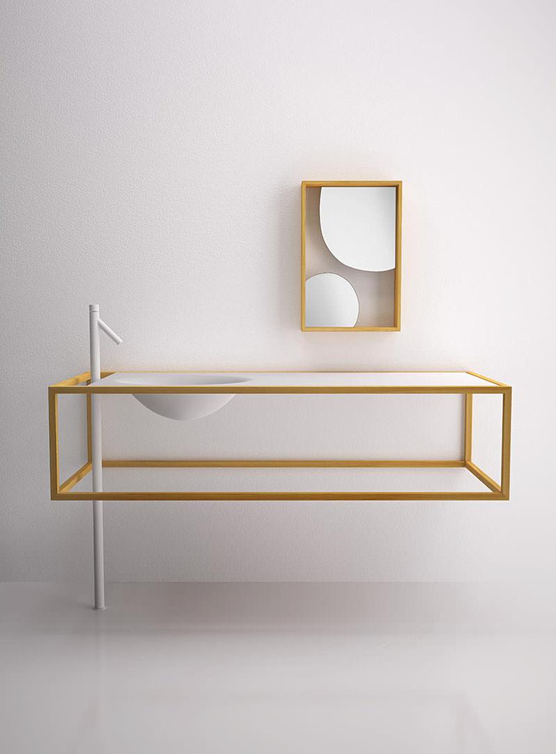 The Nendo Bathroom Collection by Nendo for Bisazza Bagno