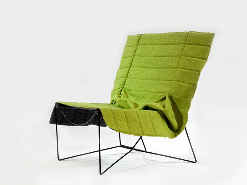Promenade Armchair by 4P1B Design Studio