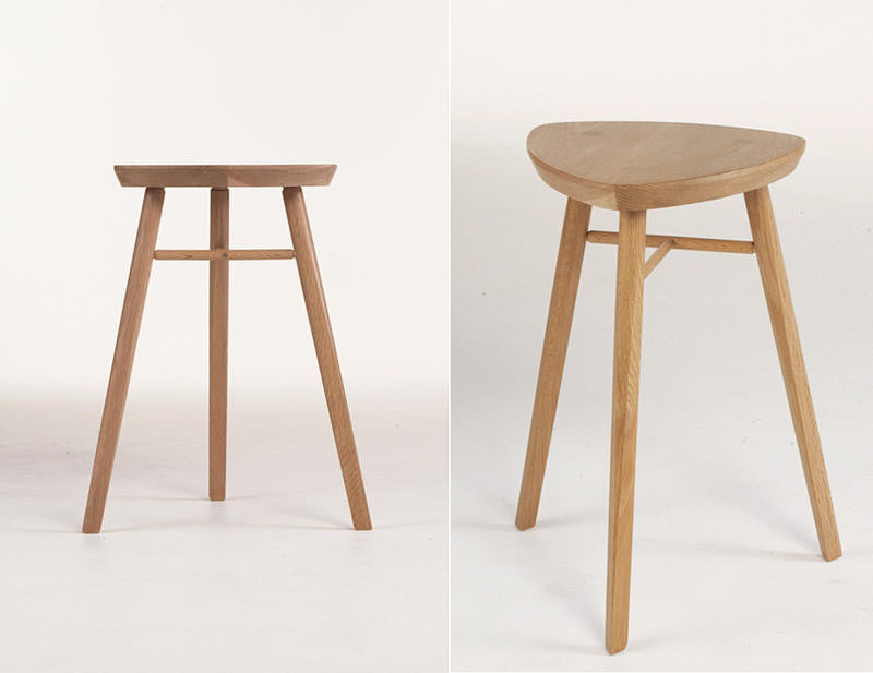 Quello Stool by Phil Procter