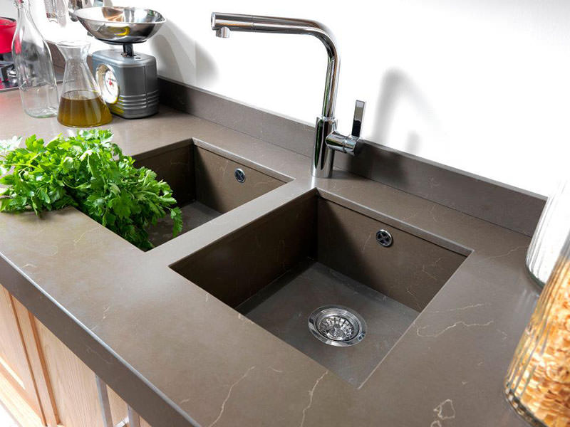 Seven Days Wooden Kitchen Sink