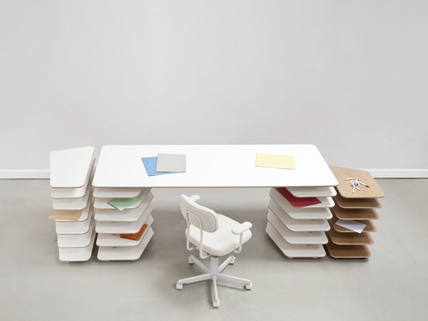 Strates Furniture System by Mathieu Lehanneur for Objekten