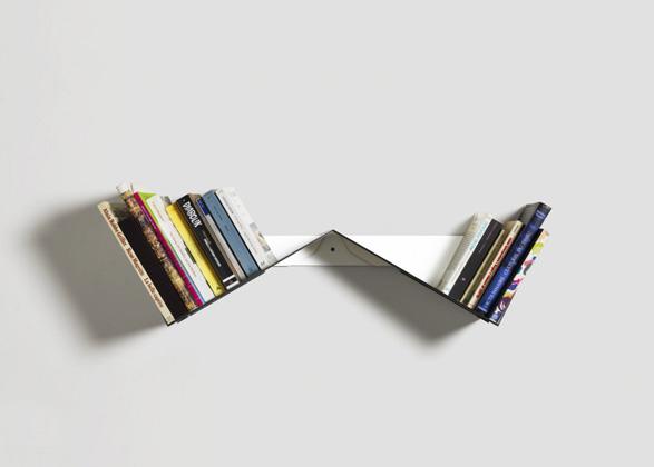 Transitory Bookshelf by Robert Stadler