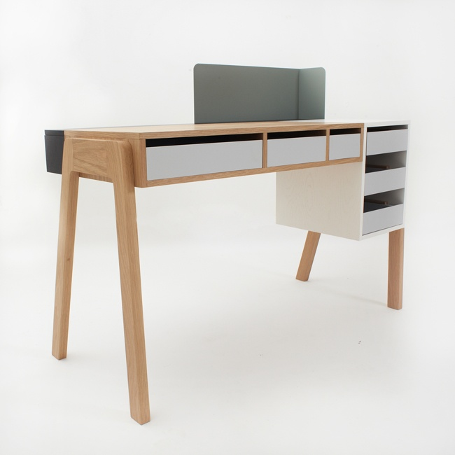 Capa Desk by Reinhard Dienes for Foundry Collection