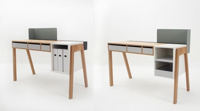 Capa Writing Desk by Reinhard Dienes