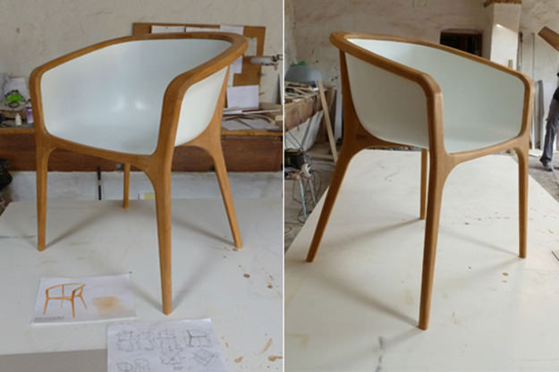 Forgotten Chair by Stone Designs