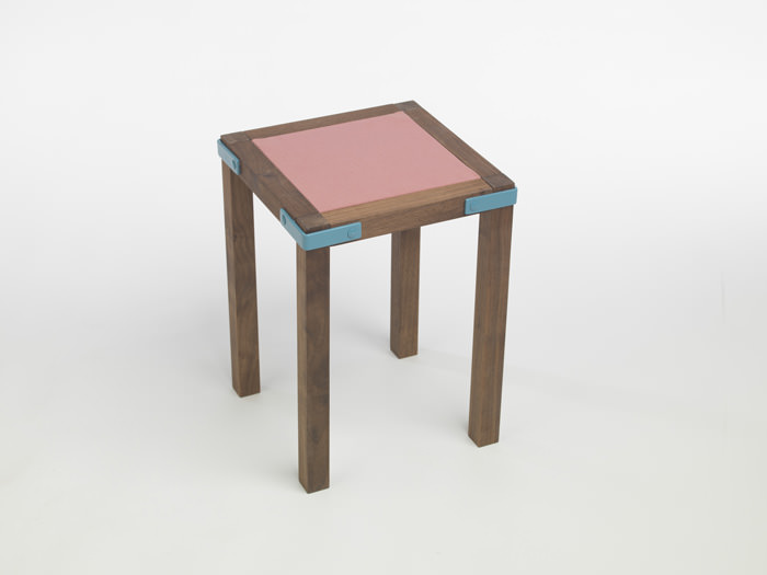 Frame and Panel Stool by Edward Hale
