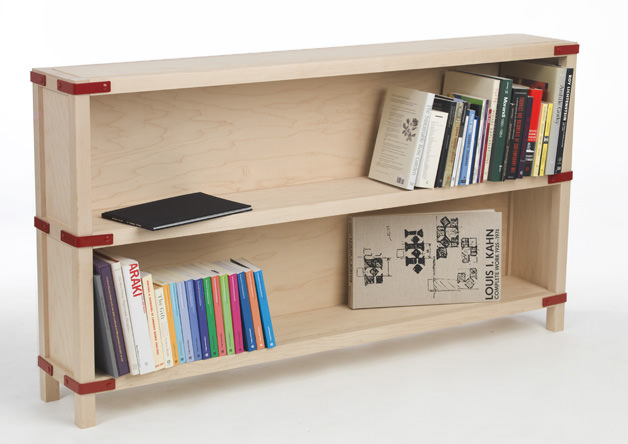 Frame and Panel Bookcase by Edward Hale