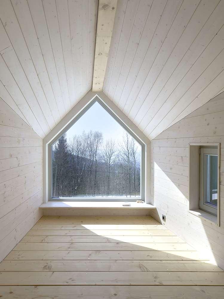 House on the Marsh Dormer Window