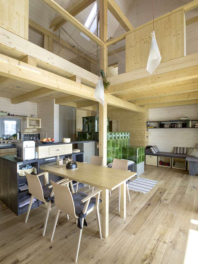 House on the Marsh Kitchen and Dining area