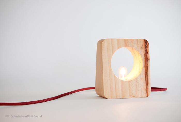 Lamparini handmade table lamp Ayllu Collective