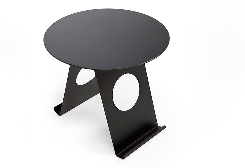 Pi Sidetable cum Magazine Holder