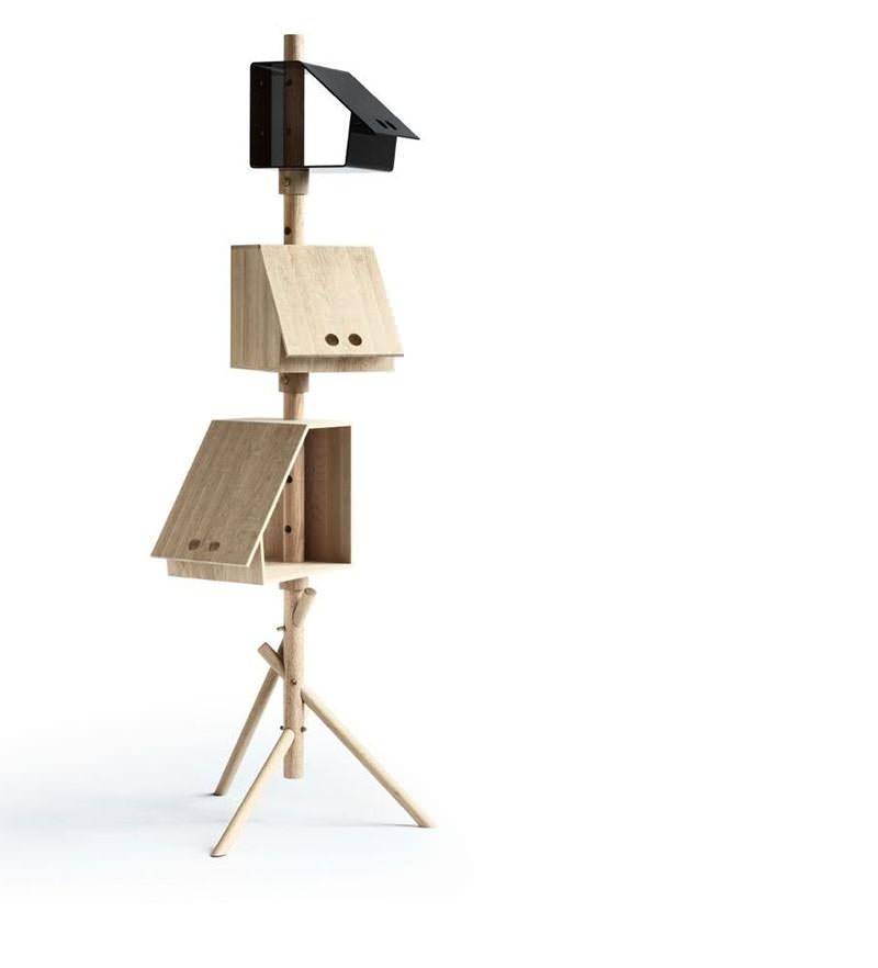 Birdstick Storage Unit by  Kristina Kjær Hansen
