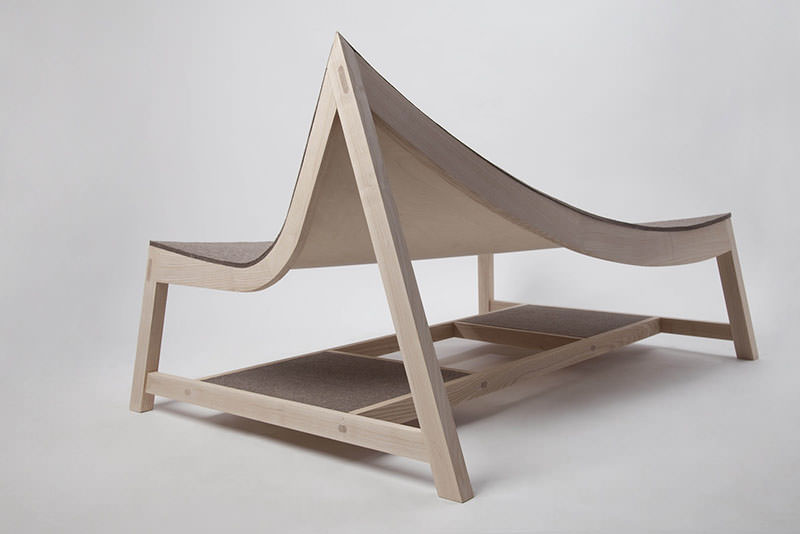 Experimental Seating Furniture by Tamás Bozsik