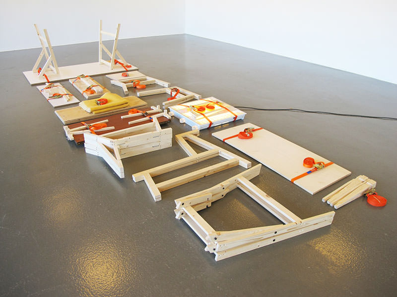 Movable Presence Flat-Pack Furniture by Naty Moskovich