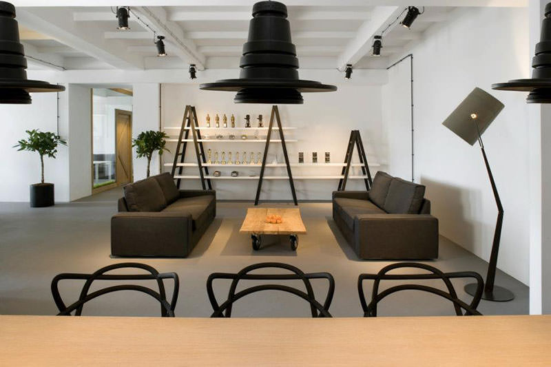 New Office Interior for Pride&Glory Interactive by Morpho Studio
