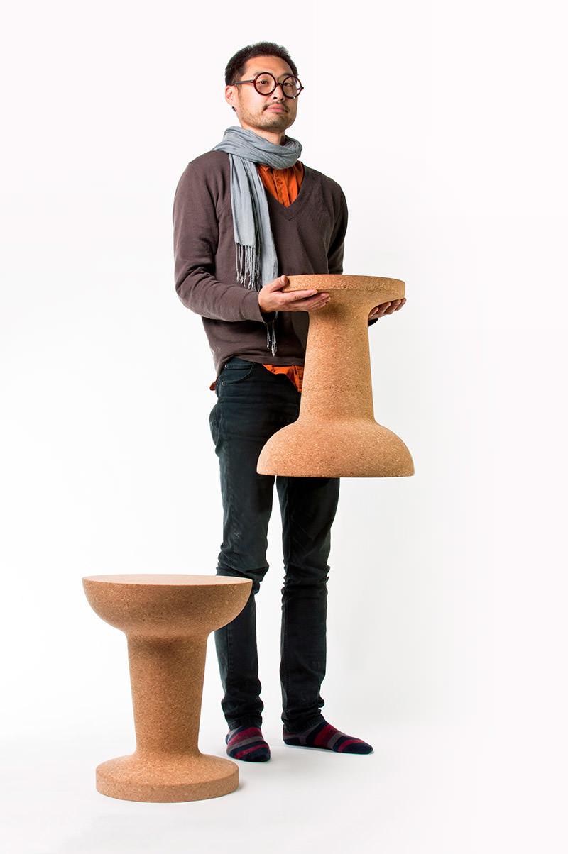 Pushpin Cork by Kenyon Yeh for COOIMA
