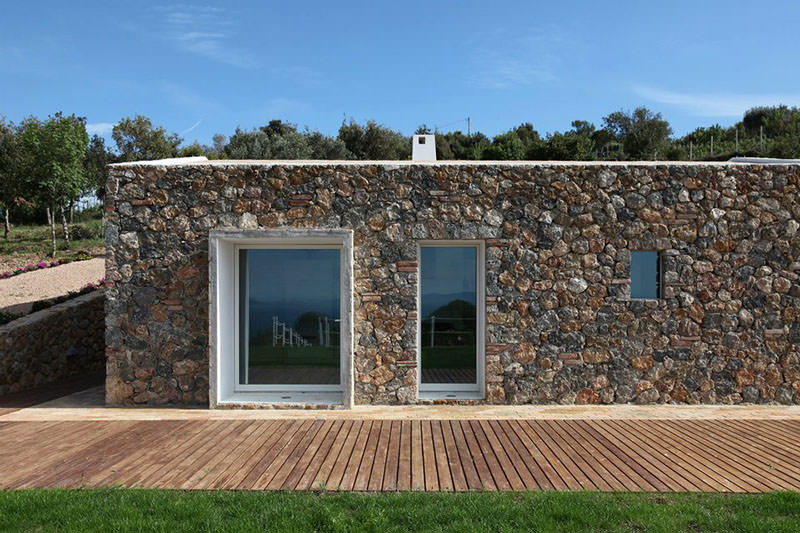 Seaside Single House by modostudio