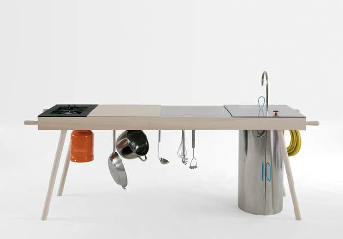 Critter Portable Kitchen by Elia Mangia