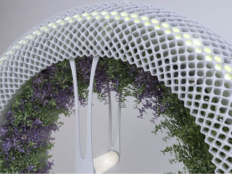 The Green Wheel Indoor Gardening Concept by DesignLibero