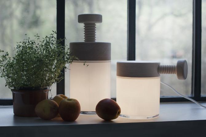 Turn Lamp by Caroline Olsson