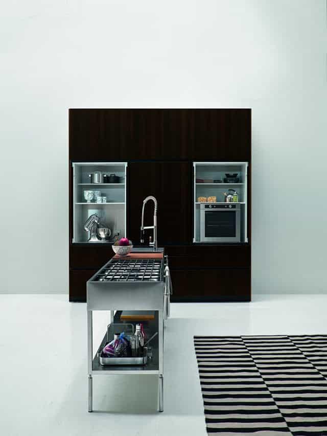 Slim Kitchen by Palomba Serafini for Elmar Cucine