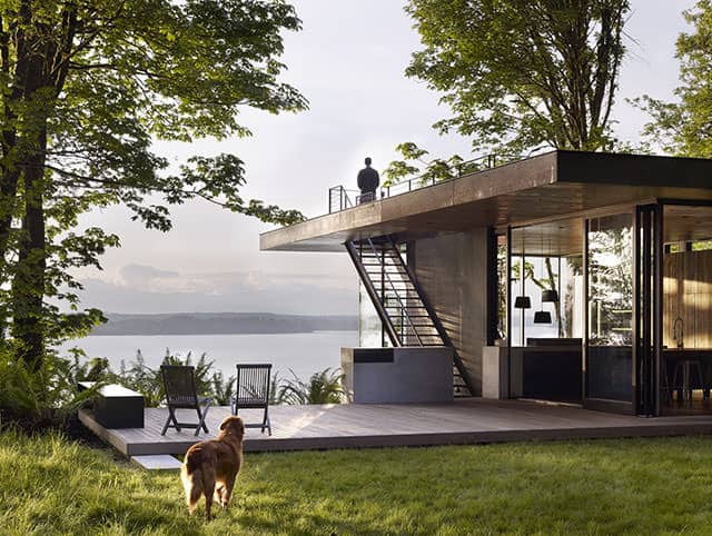 Case Inlet Retreat by MW Works Architecture + Design