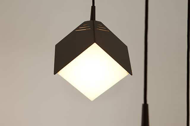 Dado Suspended Lamp by Julian Appelius for Pulpo