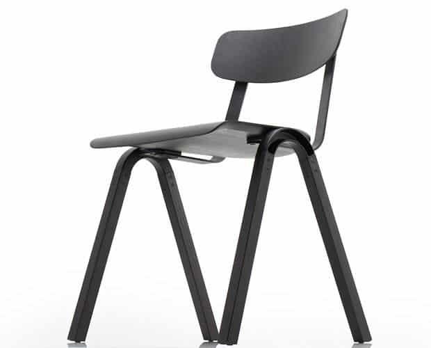 Hatcham Stackable Wooden Chair by Samuel Wilkinson