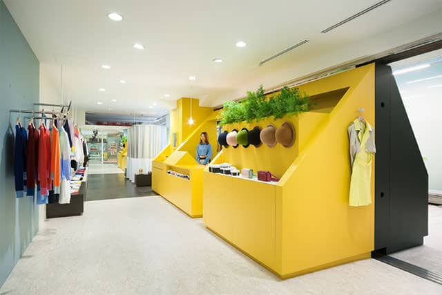 My Panda Store Interior by Torafu Architects
