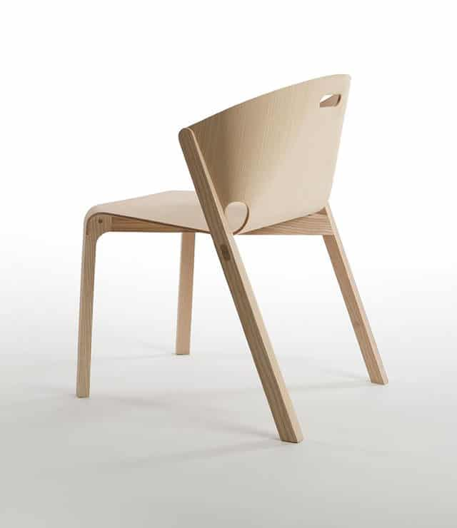 Pelt Chair by Benjamin Hubert