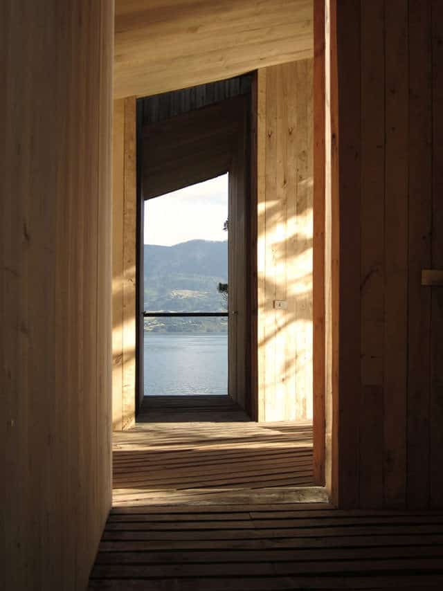 Sauna in Ranco by Panorama